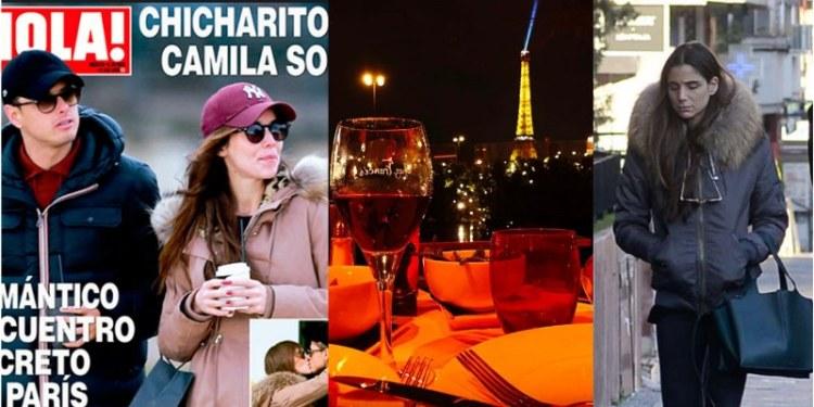 Chicharito celebra el amor frente a Torre Eiffel en París [FOTOS] 1