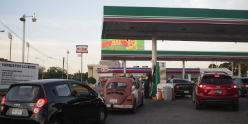 Precio de gasolina Magna se ubica hasta en 16.49 pesos este lunes