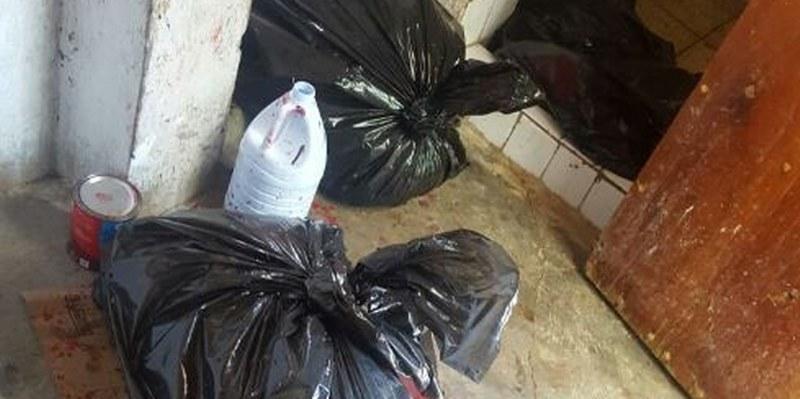 Hallan restos humanos y casa de seguridad en Chilapa