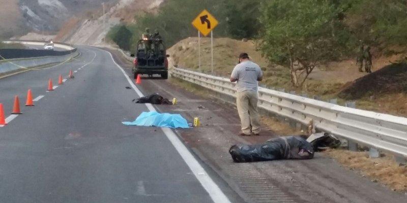 Chilpancingo: dejan dos desmembrados en la autopista del Sol