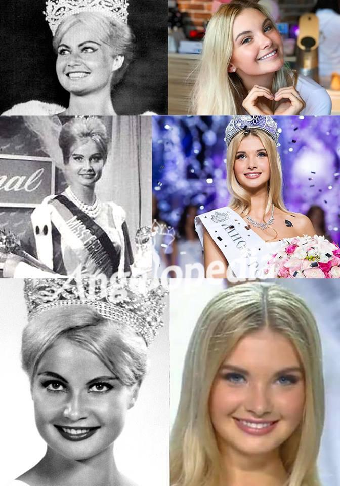 ¿Viajes en el tiempo? Miss Rusia es idéntica a Miss Universo 1961 1