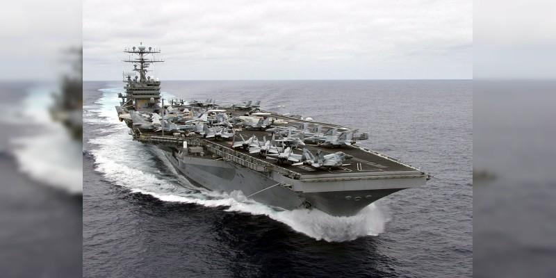 Llegarán a Japón portaaviones de EEUU en medio de tensión con Norcorea