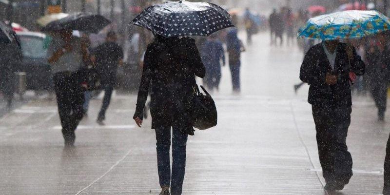 Lluvias intensas en 26 estados del país, prevé el SMN