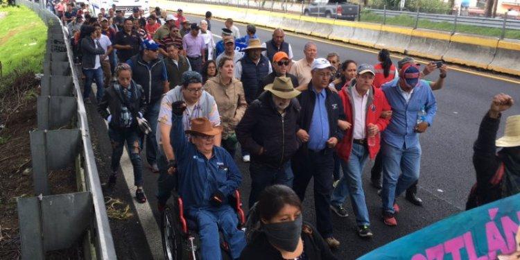 Alista Segob, encuentro con Marcha por Morelos 1