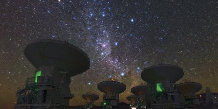 Telescopio ALMA detecta reservas de gas turbulento en galaxias distantes 1