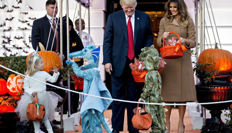 Donald Trump celebra Halloween en la Casa Blanca 1