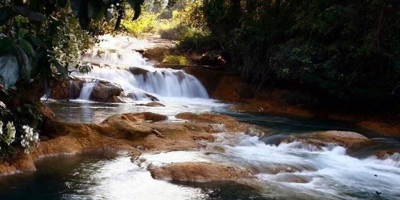 Sismo del 7S causó sequía en cascadas de Agua Azul en Chiapas