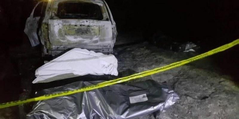 LLevaban cuerpos de 6 personas calcinadas en una camioneta en Michoacán