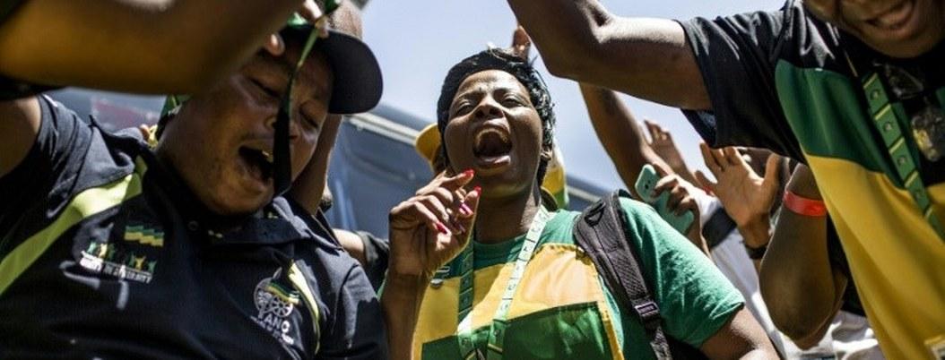 Partido oficialista sudafricano se reúne para elegir a su líder