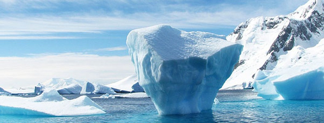 Calentamiento global descubre una isla en la Antártida