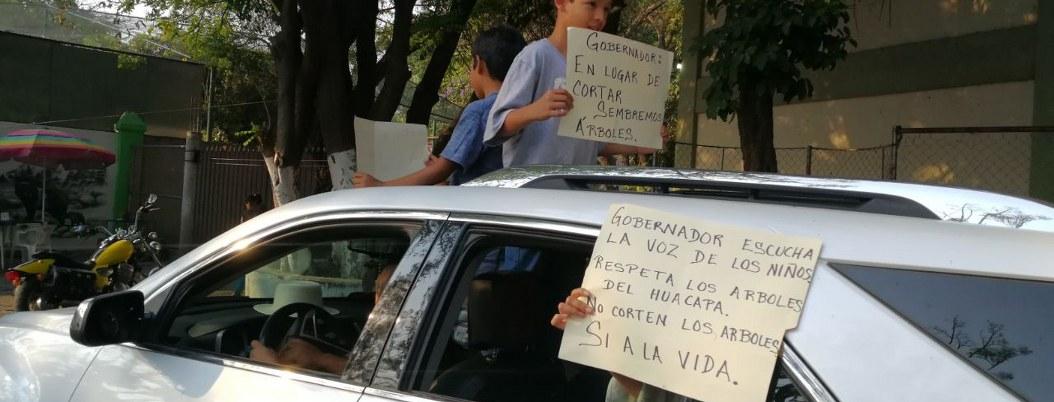 Tercer día de protestas por ciclovía; exigen conocer el proyecto 1