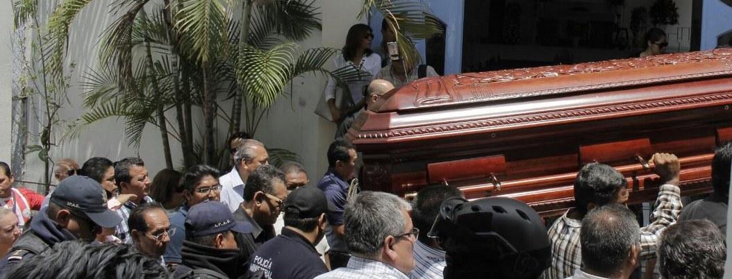 """Crimen de Abel Montúfar, """"no quedará impune"""", dice delegado de Segob 1"""