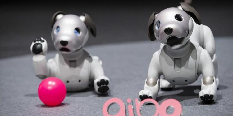 Aibo, perro robot de Sony que funcionará con inteligencia artificial 1