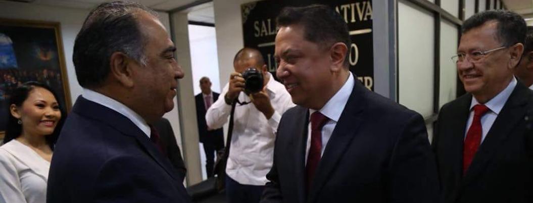 """""""Todos debemos trabajar por el bien del pueblo"""": Pablo Amílcar"""
