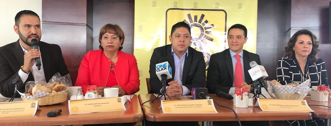 PRD respetará toma de posesión de AMLO