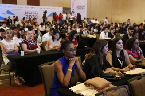 """Encuentro Internacional """"Jóvenes Hacia el 2030""""."""