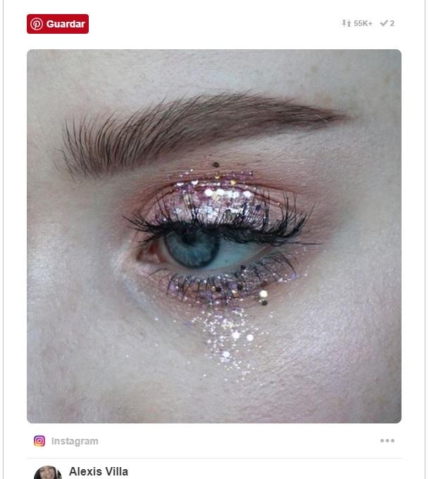 Maquillaje ojos.