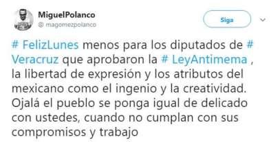 """""""Ley antimemes"""" en Veracruz dará hasta 2 años de cárcel a quien comparta 1"""