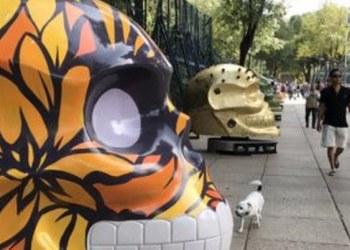 CDMX: exhibirán 54 cráneos monumentales en Paseo de la Reforma 2