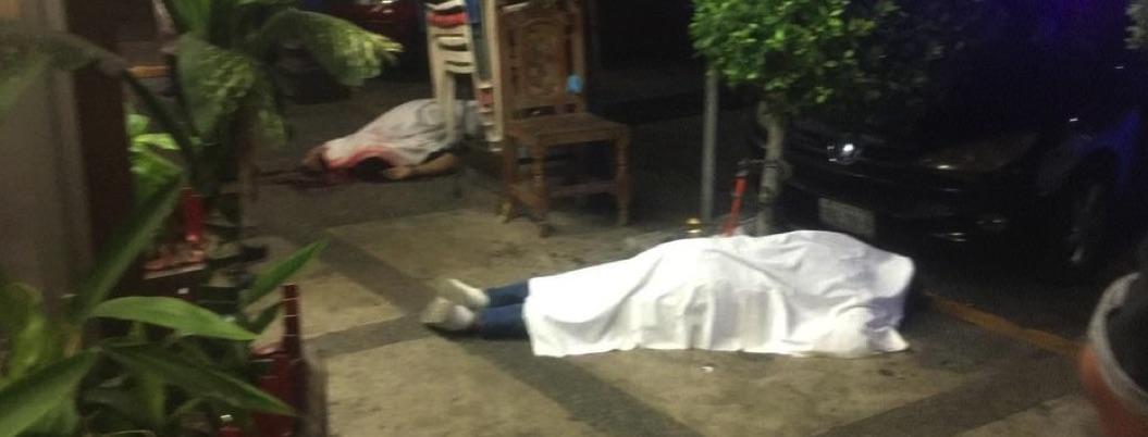 Matan a dos hombres en pleno centro de Acapulco