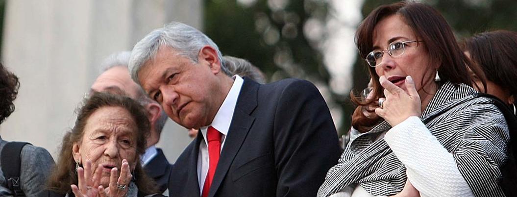 Polevsnky afirma que quienes no apoyan a AMLO son retrógadas y pagados