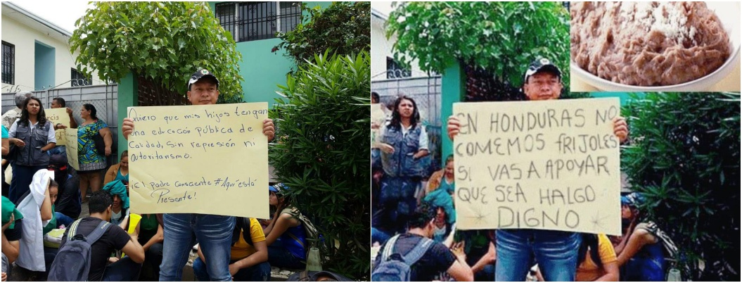Acusan a migrantes de ser ingratos con foto de hondureño muerto