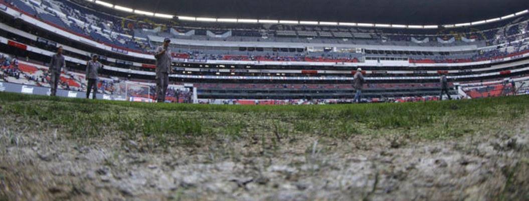 Colocarán pasto natural en cancha del Azteca tras cancelación de NFL