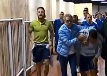 Lanzan gas pimienta aficionados de River contra jugadores de Boca 9