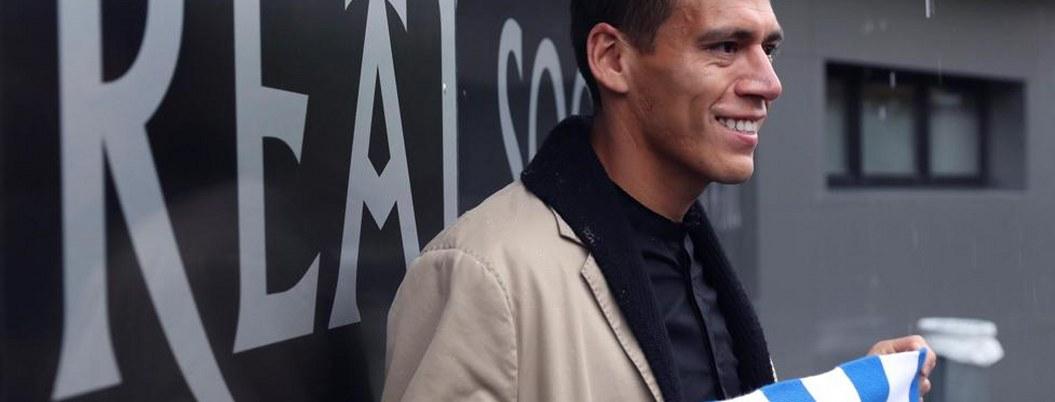 """""""Nunca pasó por mi mente dejar al Real Sociedad"""": Héctor Moreno"""