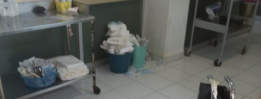 Denuncian condiciones insalubres en el hospital del ISSSTE en Acapulco