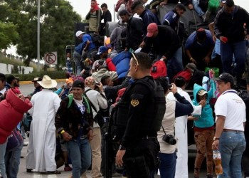 Caravana Migrante huye de Jalisco por maltrato del gobierno estatal 2