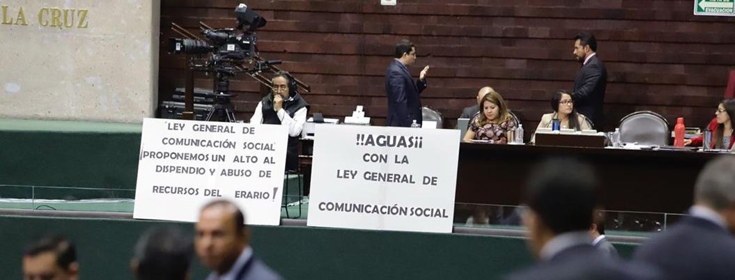Partidos chayoteros van contra nueva regulación de publicidad oficial