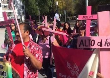 Marcharon contra feminicidios y violencia de género en once estados 1