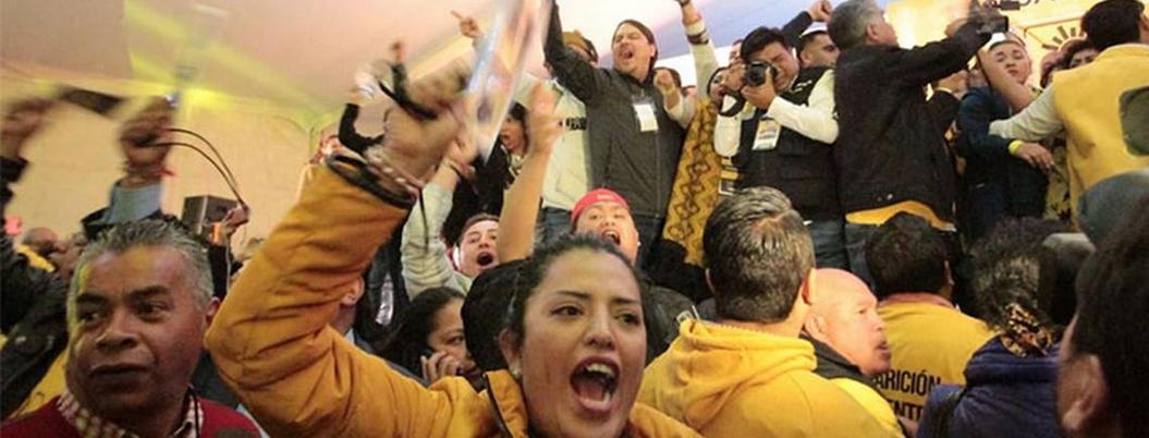 PRD presume unidad y democracia un día después de zafarrancho