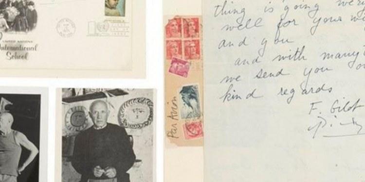 Desairan una carta firmada por Pablo Picasso, durante una subasta 1