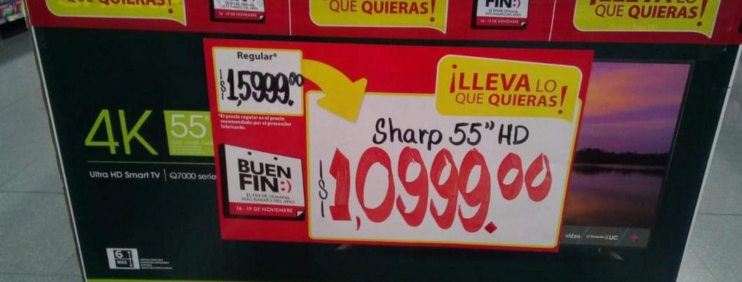 Se llevan televisión 4k en mil pesos por error en etiquetado