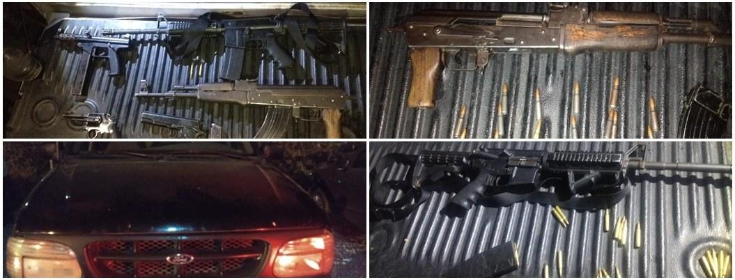 Cae célula de sicarios con armas, droga y autos robados en Morelos