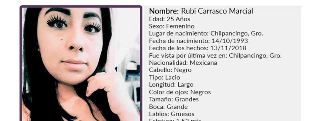 Desaparece otra mujer en Chilpancingo, Guerrero