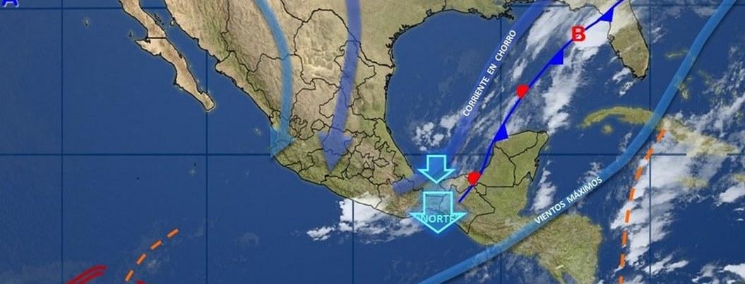 Frente frío 11 entra hoy al Noreste de México; habrá viento y lluvias