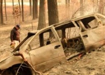 Buscan sobrevivientes de letales incendios en California 1