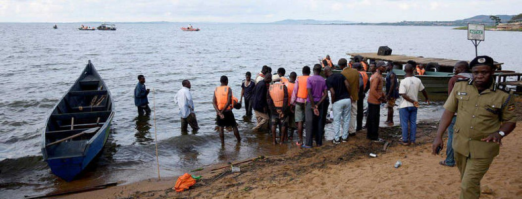 Naufragio de una embarcación de lujo en Lago Victoria dejó 31 muertos