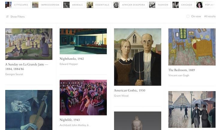 Publican colección arte en alta resolución