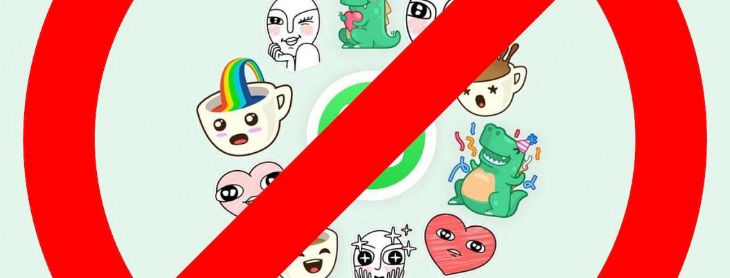 AppStore elimina stickers para WhatsApp