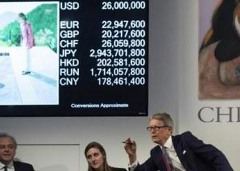 Subastan en 90 mdd cuadro de Hockney; supera récord para artista vivo 8