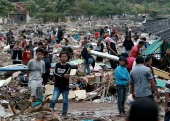 A 24 horas de tsumami sismo sacude Indonesia 7