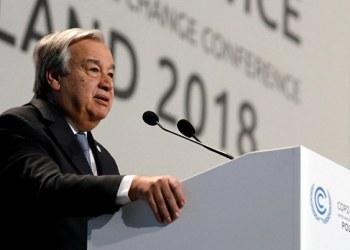 Esfuerzo actual contra cambio climático es insuficiente: Guterres 9