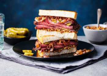 Sandwiches elegantes remplazan a eleboradas cenas de Navidad 1