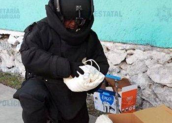 Desactivan bombas caseras en tienda de autoservicio de Ecatepec 1