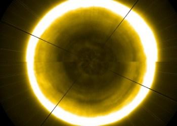 Captan primeras imágenes del polo norte solar 1
