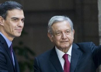 AMLO recibe al presidente de España en Palacio Nacional 4